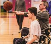 Wheelchair Basketball in Hyannis, Peabody & Quincy