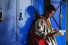 Teen, School, High School,