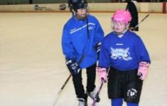 Summer Ice Hockey for Special Needs
