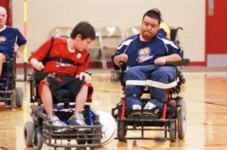 Power Soccer For Wheelchair Users