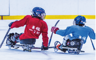 Summer Sled Hockey