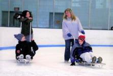 Adaptive Ice Skating