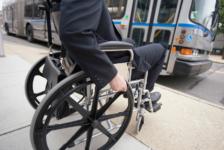 Wheelchair Ramp Bus Public Transportation Community Transportation Coordination Conference in Massachusetts