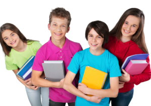 Middle School Students Study Executive Function Organization Habits Workshop in Massachusetts