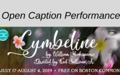 """Open Caption """"Cymbeline"""" at Shakespeare on the Common"""