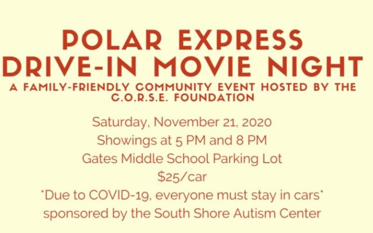 Polar Express Drive-In Movie Night for Special-Needs Families
