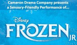 Sensory Friendly Frozen Jr. Theater Performance for Massachusetts special needs families