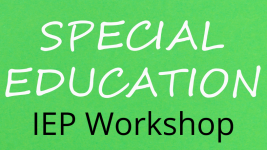 Creating your Child's IEP