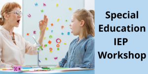 IEP Special Education Workshop for Massachusetts Families